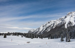 Ski resort Madonna di Campiglio. Italy Royalty Free Stock Photography