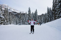 Ski resort Madonna di Campiglio Stock Image