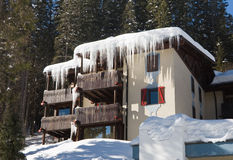 Ski resort Madonna di Campiglio. Italy Stock Photos