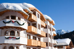 Ski resort Madonna di Campiglio. Italy Royalty Free Stock Photos