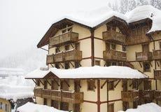 Ski resort Madonna di Campiglio Royalty Free Stock Photography