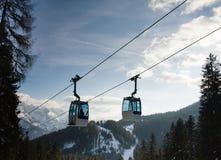 Ski resort Madonna di Campiglio Stock Images
