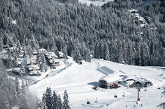 Ski Resort of Madonna di Campiglio , Italian Alps, Italy Royalty Free Stock Image