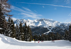 Ski Resort Madonna Di Campiglio. Italy Stock Photography