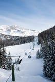 Ski resort Madonna di Campiglio. Italy. The Ski resort Madonna di Campiglio. Italy Royalty Free Stock Photos