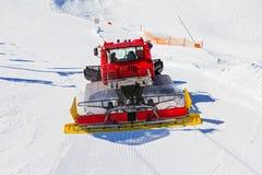 Ski resort maintenance Royalty Free Stock Image