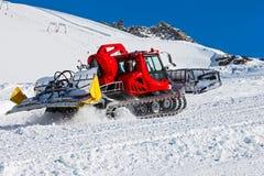 Ski resort maintenance Stock Images