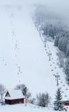 Ski resort Malino Brdo, Slovakia. Ski resort Malino Brdo at Slovakia Stock Photos