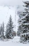 Ski resort Malino Brdo, Slovakia. Ski resort Malino Brdo at Slovakia Royalty Free Stock Images