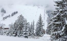 Ski resort Malino Brdo, Slovakia. Ski resort Malino Brdo at Slovakia Stock Image