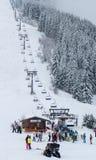 Ski resort Malino Brdo, Slovakia. Ski resort Malino Brdo at Slovakia Royalty Free Stock Photos