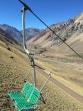 Ski Resort nästan Mendoza arkivfoto