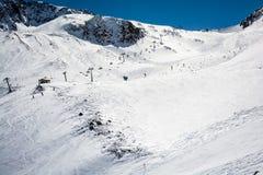 Ski resort of Neustift Stubai Royalty Free Stock Photos