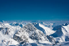 Ski resort of Neustift Stubai Stock Photography