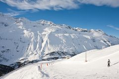 Ski Resort Obergurgl. Austria Royalty Free Stock Images