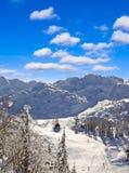 Ski Resort Of Bovec Stock Images