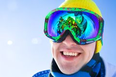 At the ski resort Royalty Free Stock Photo