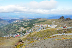Ski resort Pradollano in spring Stock Photo