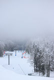 Ski resort Rosa Khutor near Krasnaya Polyana Stock Photos