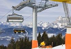 Ski resort Schladming . Austria Royalty Free Stock Photo