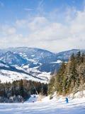 Ski resort Schladming . Austria Stock Photography