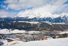 Ski resort Schladming . Austria. The ski resort  Schladming . Austria Royalty Free Stock Image