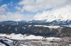 Ski resort Schladming . Austria Stock Image