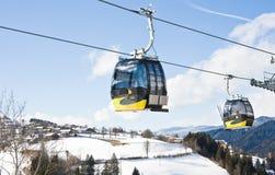 Ski resort  Schladming . Austria. The ski resort  Schladming . Austria Stock Images