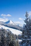 Ski resort  Schladming . Austria. The ski resort  Schladming . Austria Stock Photography
