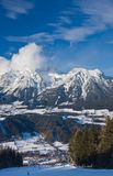 Ski resort  Schladming . Austria Stock Photo