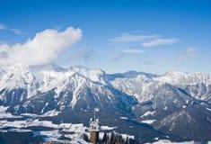 Ski resort  Schladming . Austria Royalty Free Stock Image