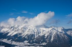 Ski resort Schladming . Austria. The ski resort Schladming . Austria Royalty Free Stock Photo