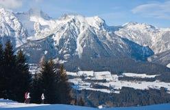 Ski resort  Schladming . Austria. The ski resort  Schladming . Austria Stock Photo