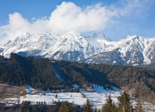 Ski resort Schladming . Austria. The ski resort Schladming . Austria Stock Photos