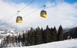 Ski resort  Schladming . Austria Royalty Free Stock Image