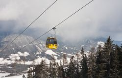 Ski resort  Schladming . Austria. The ski resort  Schladming . Austria Stock Images