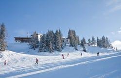 Ski resort  Schladming . Austria. The ski resort  Schladming . Austria Royalty Free Stock Photos