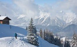 Ski resort Schladming . Austria Stock Photos