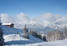 Ski resort Schladming . Austria Stock Images