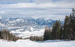 Ski resort Schladming . Austria Royalty Free Stock Images