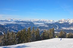 Ski resort Schladming . Austria Stock Image