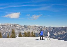 Ski resort Schladming . Austria Stock Photography