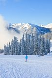Ski resort Schladming . Austria Royalty Free Stock Photography