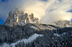 Ski resort of Selva di Val Gardena, Italy Stock Photos