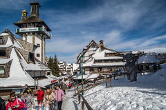 Ski resort in Serbia, Kopaonik Stock Photo