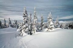 Ski resort Sheregesh, Kemerovo region, Russia. Stock Photo