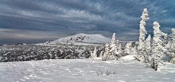 Ski resort Sheregesh, Kemerovo region, Russia. Stock Images