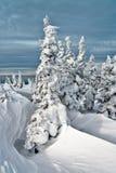 Ski resort Sheregesh, Kemerovo region, Russia. Royalty Free Stock Photography