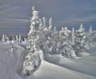 Ski resort Sheregesh, Kemerovo region, Russia. Stock Photography