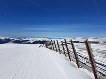 Bucegi ski resort Royalty Free Stock Photos